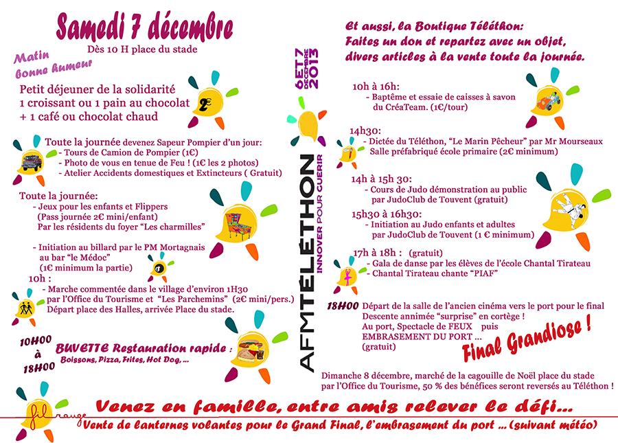 Téléthon 2013 à Mortagne