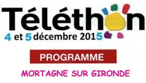 Téléthon décembre 2015