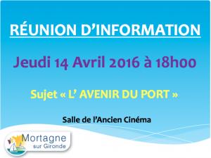 L'avenir du Port de Mortagne
