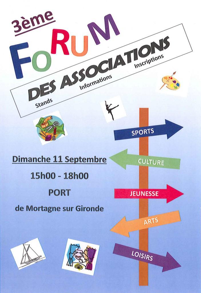 Forum des associations Mortagne 2016