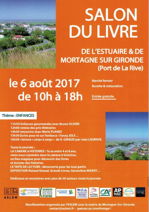 Salon du Livre de l'Estuaire & de Mortagne sur Gironde